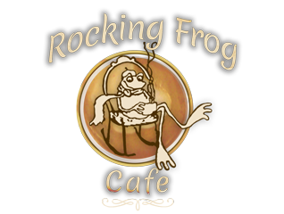 Rocking Frog Cafe Logo